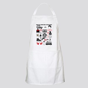 SPN Quotes Mens Apron