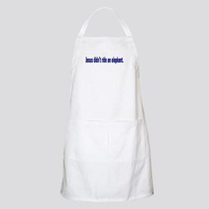 Jesus Didn't Ride an Elephant BBQ Apron
