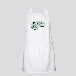 Pool Player Voice BBQ Apron
