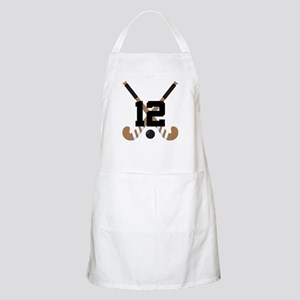 Field Hockey Number 12 Apron