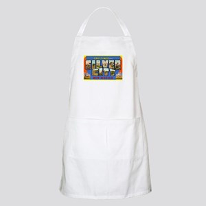 Silver City New Mexico Greetings BBQ Apron