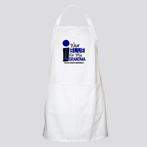 I Wear Blue For My Grandma 9 CC BBQ Apron