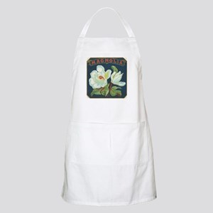 Magnolia antique label Apron