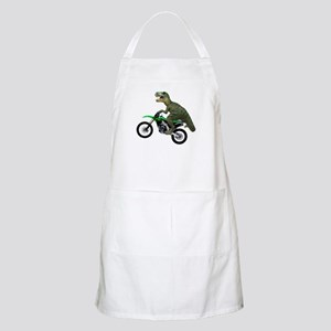 Dirt Bike Wheelie T Rex Apron