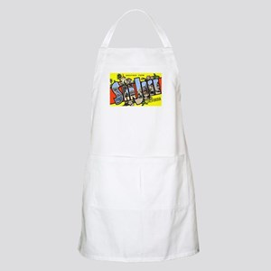 San Jose California Greetings BBQ Apron