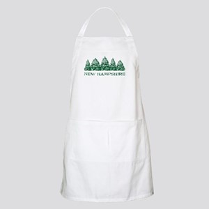 NH Winter Evergreens Apron