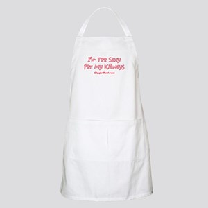 Too Funny Kidneys BBQ Apron