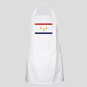 New Orleans Flag Light Apron