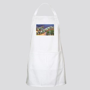 Greetings from New Hampshire BBQ Apron