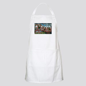 City Of Austin Postcard BBQ Apron