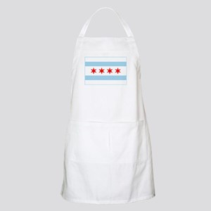 City of Chicago Flag Light Apron