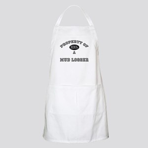 Property of a Mud Logger BBQ Apron