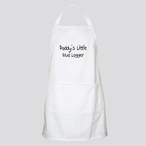 Daddy's Little Mud Logger BBQ Apron