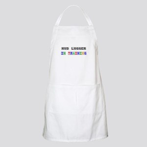 Mud Logger In Training BBQ Apron