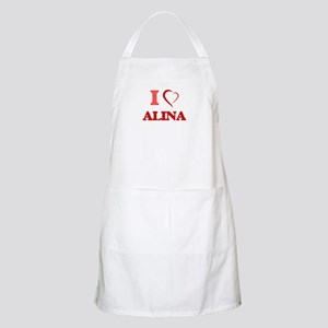 I Love Allie Light Apron