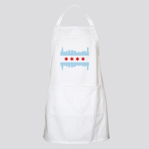 Chicago Flag Skyline Apron