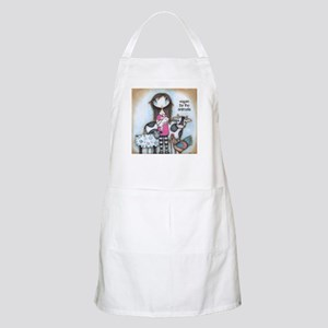 Vegan for the Animals Apron