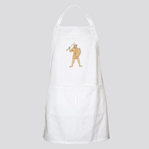 African Shield And Spear Aprons - CafePress