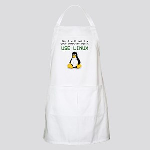 Use Linux BBQ Apron