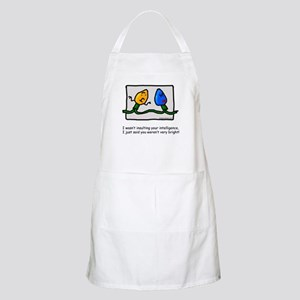 Not too bright BBQ Apron