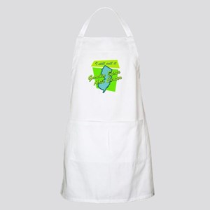 I Still Call It Garden State BBQ Apron