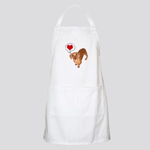 Love You BBQ Apron