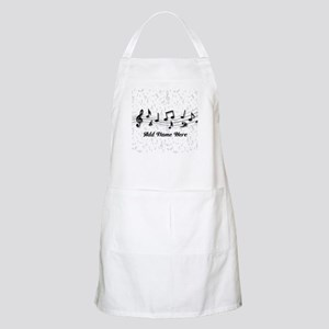 Personalized Musical Notes design Apron