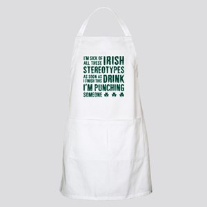 Irish Stereotypes Apron