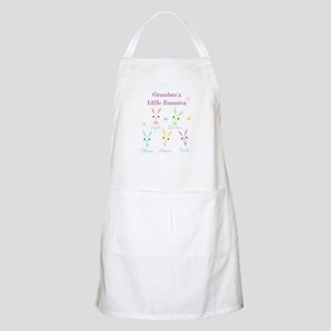 Grandmas little bunnies custom Apron