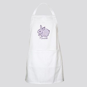 Purple chic bunny Apron