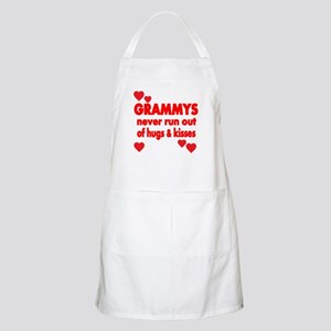 GRAMMYS NEVER RUN OUT OF HUGS KISSES Apron