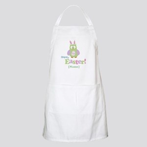 Personalized Happy Easter Owl Apron