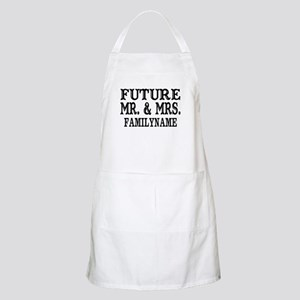 97b322bee Future Mr. and Mrs. Personalized Apron
