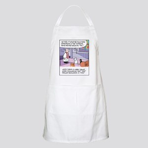 Cats, Dogs, and God BBQ Apron