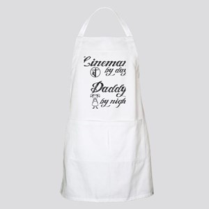lineman by day daddy by night Apron