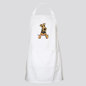 Welsh Terrier Paws Up Apron