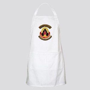 38th Support Group with Text Apron