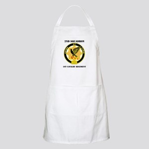 DUI - 2nd Sqdrn - 1st Cavalry Regt with Text Apron