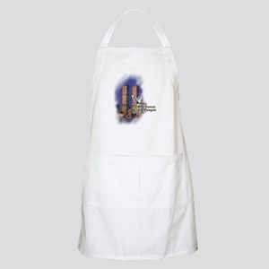 September 11, we will never forget - Apron