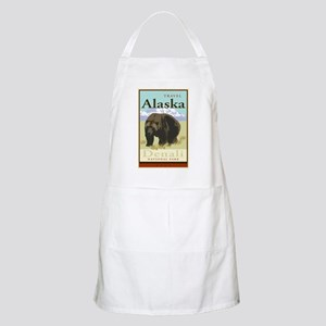 Travel Alaska BBQ Apron