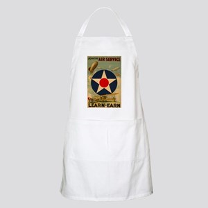 1917 WWI Poster Air Service BBQ Apron