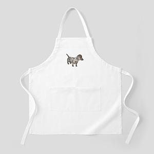 Speckled Dachshund Dog BBQ Apron