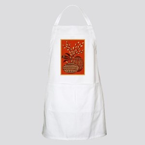 Vintage Russian Easter Card Apron