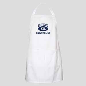 Retired Hairstylist BBQ Apron
