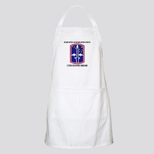 HHC - 172 Infantry Brigade with text Apron