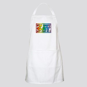 I'm not gay my ass is Apron