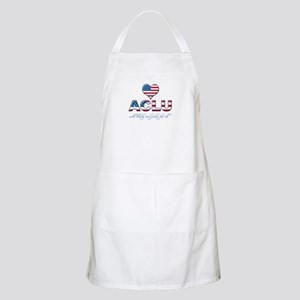 I <3 ACLU BBQ Apron