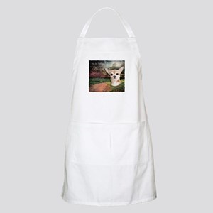 """Why God Made Dogs"" Chihuahua Apron"