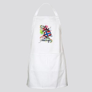 Flower Norway Apron
