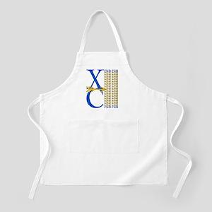 XC Run Blue Gold Apron